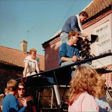 Andrew Morgan (top) filming 'The Big Six (1983)