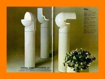 1972 Pileo Floor Lamp Gae Aulenti for Artemide