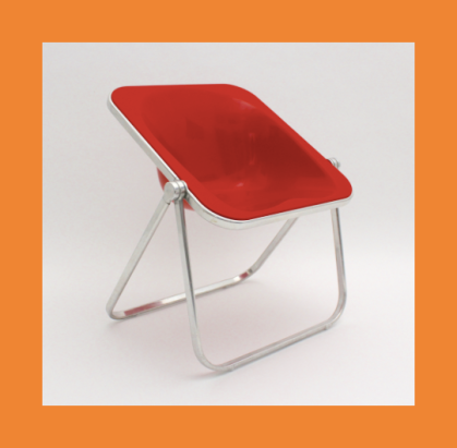 Piretti folding chair