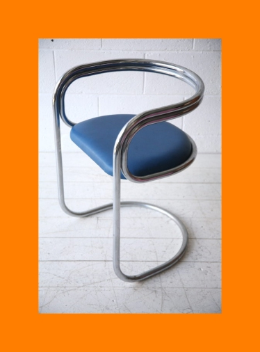 ORtubular chair Plush-Kicker 1968